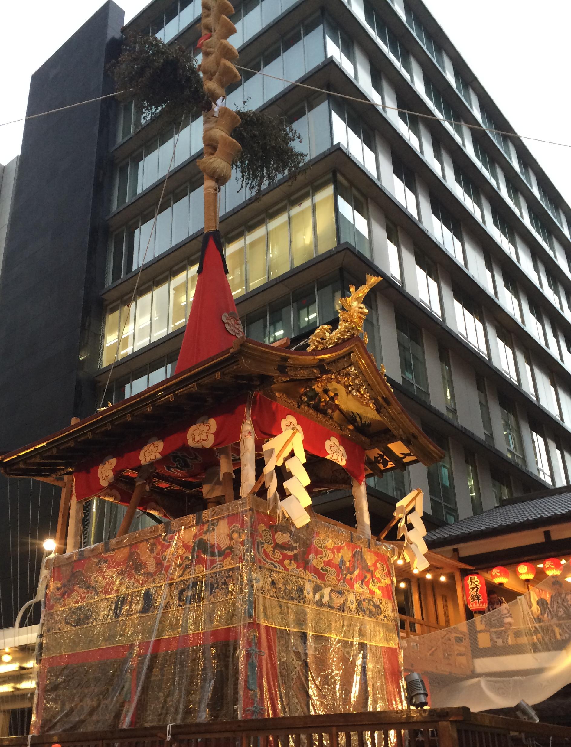祇園祭を歩いて思ったこと。