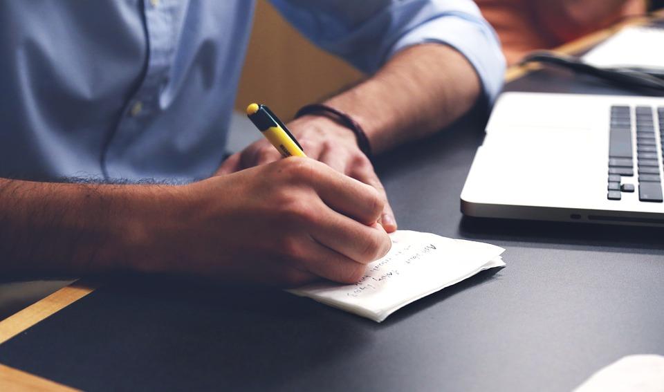 ブログが記事が書けない、その時やるべき作業とは?