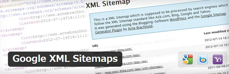 WordPressの検索エンジン向けサイトマップを作成できるプラグイン